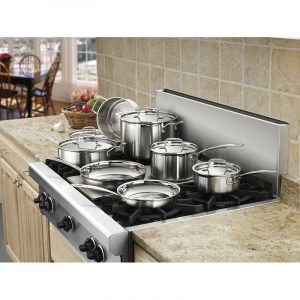 Cuisinart Multiclad Pro 12 Piece Stainless Steel Cookware Set