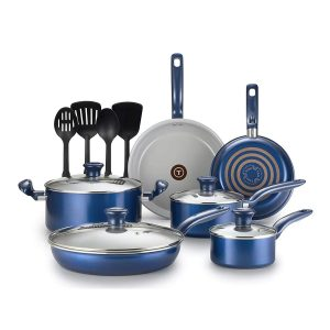 T-Fal 14 Pc. Initiatives Ceramic Toxic Free Cookware Set