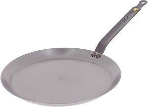De Buyer - Round Pancake Pan - Mineral B Element 12 inch