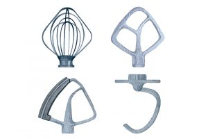 4 Types Of Kitchen Mixer Attachment And What They Are Used For